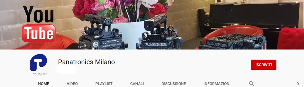 SEGUITECI SU YOUTUBE!