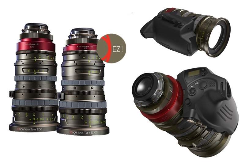Zoom EZ Angenieux con Cine Servo Unit