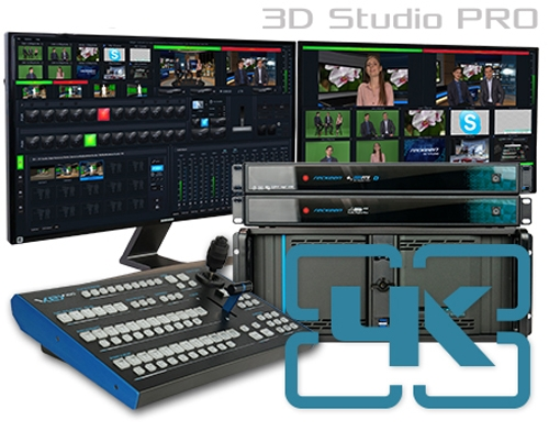 NUOVO VIRTUAL STUDIO MULTICAMERA 3D IN 4K