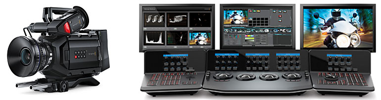 prodotti per cinema digitale Blackmagic Design